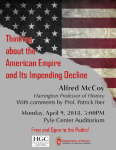 McCoy Lecture - Event Poster